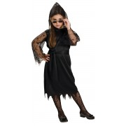 Costum Halloween fete vrajitoare neagra