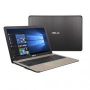 "ASUS X541NA-GQ088T N4200 15.6"" HD matny UMA 4GB 1TB WL DVD/RW Cam Win10 čoko-čierny"