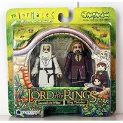 The Lord of the Rings: Gandalf the White and King Theoden [Toy]