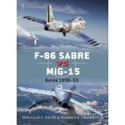 F-86 Sabre Vs MiG-15 by Doug Dildy