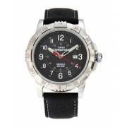 Timex T49988 Silver-Tone Black Watch 6