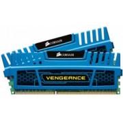 Corsair 16 GB DDR3-RAM - 1600MHz - (CMZ16GX3M2A1600C10B) Corsair Vengeance Blue CL10