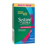 SYSTANE ULTRA LUBRICATING EYE DROPS Three 10ml Bottles