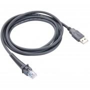 2m Scanner Serial Cable De Datos Para El Simbolo Ls2208 / 2208ap / Ls4278 (gris)