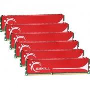 Memorie G.Skill NQ 12GB (6x2GB) DDR3, 1600MHz, PC3-12800, CL9, Triple Channel, Hexa Kit, F3-12800CL9T2-12GBNQ
