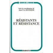 Résistants Et Résistance