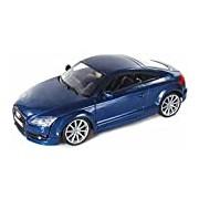 "Motormax GOTZMM73340BU 1:24 Scale Metallic Blue ""2007 Audi TT Coupe"" Die Cast Model Car"