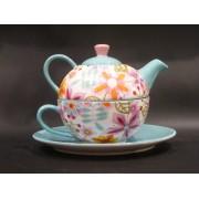 Tea For One Colectia Flori Multicolore