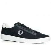Fred Perry Herren Schuhe Sneaker Canvas navy braun,blau,weiß