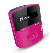 Philips SA4RGA04PN/12 Lettore MP3 con FullSound 4 GB (Philips Songbird/15 ore di riproduzione), colore: rosa