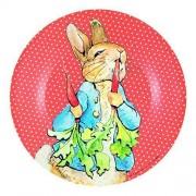 Assiette À Dessert Rouge Peter Rabbit - Petit Jour