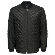 ONLY & SONS Bomber Quilted Jacket Man Svart