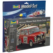 Revell 67064 - Mini Cooper Rally e Monte Carlo Kit di Modellismo in Plastica, Scala 1:24