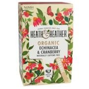 Heath & Heather Echinacea & Cranberry Tea Bio