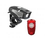 Nite Rider Lumina Micro 250 and Solas Combo - Set de faro delantero y trasero para ciclismo, talla NA