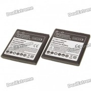 Remplacement 3.7V 1600mAh Batterie pour HTC Sensation / G14 (Pair)