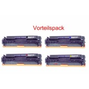 4x Tonerkartusche f. HP Color Laser Jet CP 1215 1217 1515 1518 CP1217 , CM 1312 MFP kompatibel, CLJ CP1215 , CP1515 , CP1515N , CP1518 , CM1312MFP