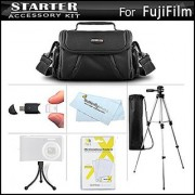 Accessories Kit For Fuji Fujifilm FinePix SL300 S8200 S8300 S8400 S8500 S9800 S9900W SL1000 HS50EXR X100S X20 X-M1