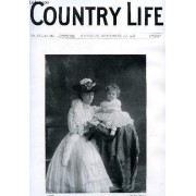 Country Life Illustrated, Vol. Xx, N° 504, Sept. 1906 (Contents: Our Portrait Illustration: Lady Violet Brassey And Her Baby. The Cricket Season Of 1906. Country Notes. The Sabine Farm. ...