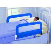 Summer Infant - 12361 - Grow With Me, Barriere di protezione ribaltabili, per lettino, Blu (blau)