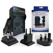 ABC Products® Batterie / pile Chargeur Pour Canon Powershot A3300is / A3300 Appareil Photo