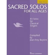 Sacred Solos for All Ages - High Voice by Joan Frey Boytim