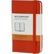 Moleskine Red Extra Small Ruled Notebook Hard by Moleskine