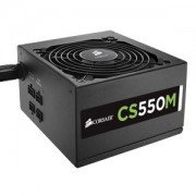 Sursa Corsair CS 550W, semi-modulara, 80 Plus Gold, PFC Activ, CS550M