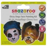 Set pictura pe fata Dizzy Dogs