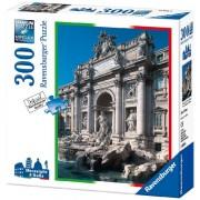 Ravensburger 14040 Fontana di Trevi, Roma Puzzle 300 pezzi Meraviglie d'Italia