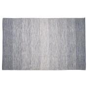 Tapis design 'WASH' 160x230 cm bleu en coton