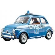 Bburago 18-21035 - Fiat 500 Polizia Modellino, Scala 1:24