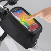 ER ROSWHEEL Le Xuan 12496 bicicleta teléfono de pantalla táctil móvil negro 5C paquete de 5.5 pulgadas