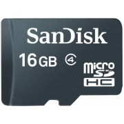 SanDisk MICRO SDHC 16GB Class 4 + adapter