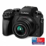 Panasonic Lumix DMC-G7 negru + obiectiv 14-42mm RS125018548