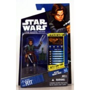 Figura Star Wars The Clone Wars Boba Fett