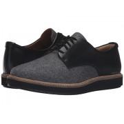 Clarks Glick Darby Grey TextileBlack Leather Combo