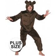 Bruine beren pak voor volwassenen 56 (2xl)