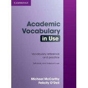 Academic Vocabulary in Use with Answers by Michael McCarthy