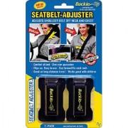 Masterlink Marketing 296-bu Black Seatbelt Adjuster (Pack of 2)