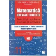 Matematica cls 11 M2 Breviar teoretic ed.2016 - Petre Simion Victor Nicoale