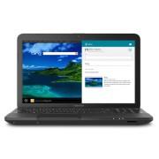 Laptop Toshiba Satellite, PSCBLU-008005B; Intel Celeron ULV 847, 15.6HD LD, 4GB, 320GB, DVD-SMULTI, WIFI BGN, SATIN BLACK, WINDOWS 8, factory refurbished
