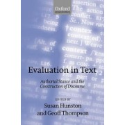 Evaluation in Text by Susan Hunston