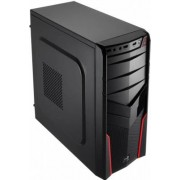 Aerocool V2X - Midi-Tower Black/Red