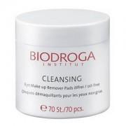 Biodroga Cleansing Eye Make up Remover Pads 70 pcs