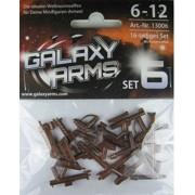 Set de armas GALAXYARMS de 16 piezas: Set 6 con diversos blásteres y fusiles. Ideal para tu ejército de minifiguras LEGO. ¡NOVEDAD!