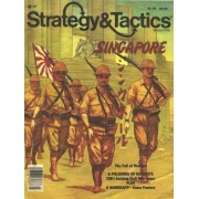 TSR: Strategy & Tactics Magazine # 96, with Singapore, Fall of Malaya, Board Game by TSR Strategy & Tactics Magazine