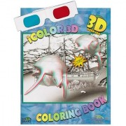 iColor 3D Deep Sea (High Detail) Coloring Book. Watch as Sharks Turtles Divers and All Kinds of Fish Come to Life. (3