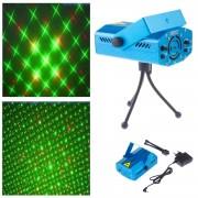 Rotačný party laser s možnosťou nastavenia