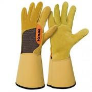 """Rostaing RONCIER-IT08 """"Roncier"""" Gloves - Brown"""